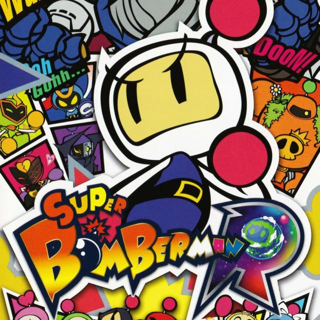 Carátula de Super Bomberman R, para Nintendo Switch