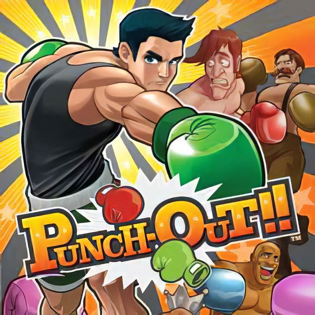 Carátula de Punch-Out!!, para Wii
