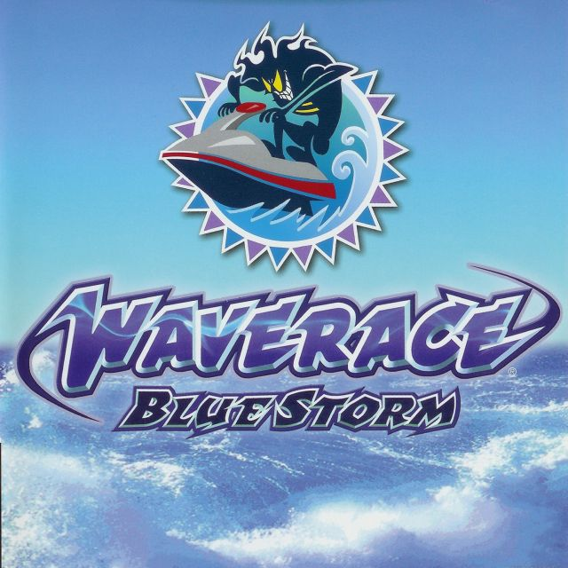 Carátula de Wave Race: Blue Storm, para GameCube