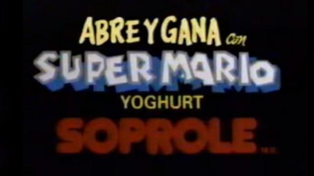 ¡Abre y gana con Super Mario y yoghurt Soprole!
