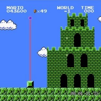 El mundo negativo japonés de Super Mario Bros.