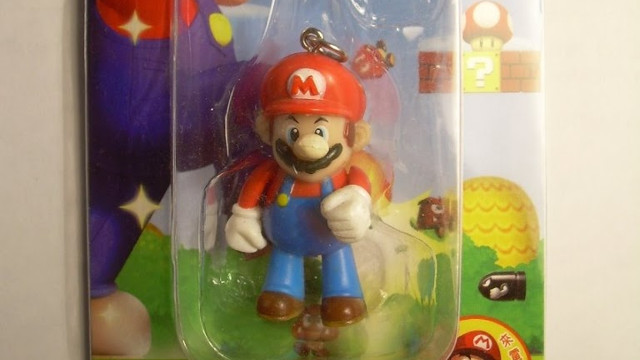 Flash Super Mario Bros. Phone Strap