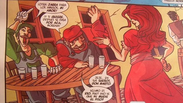 Mario y Luigi vivieron en Chillán