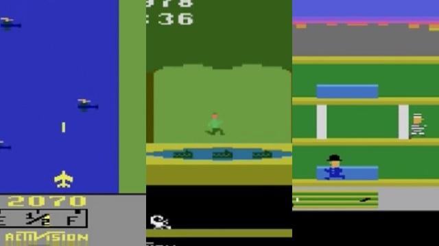 Tres clásicos de Atari