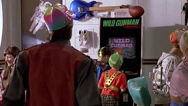 Marty McFly, campeón en Wild Gunman