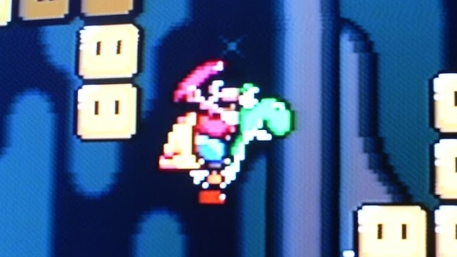 Un curioso bug en Super Mario World