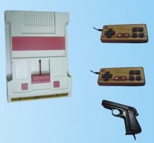 Imagen de una consola pirata barata que simula una Famicom - Mi lado Nintendo