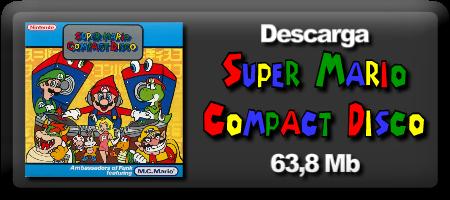 Descarga Super Mario Compact Disco desde Mi lado Nintendo