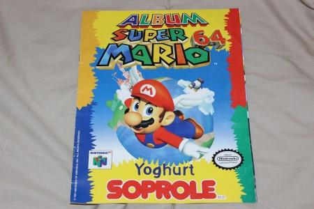 Mi álbum Super Mario 64 de Soprole