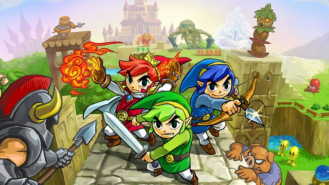 Gana una demo de The Legend of Zelda: Tri Force Heroes