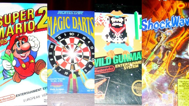 Mi colección: Super Mario Bros. 2, Magic Darts, Wild Gunman y Shockwave (NES)